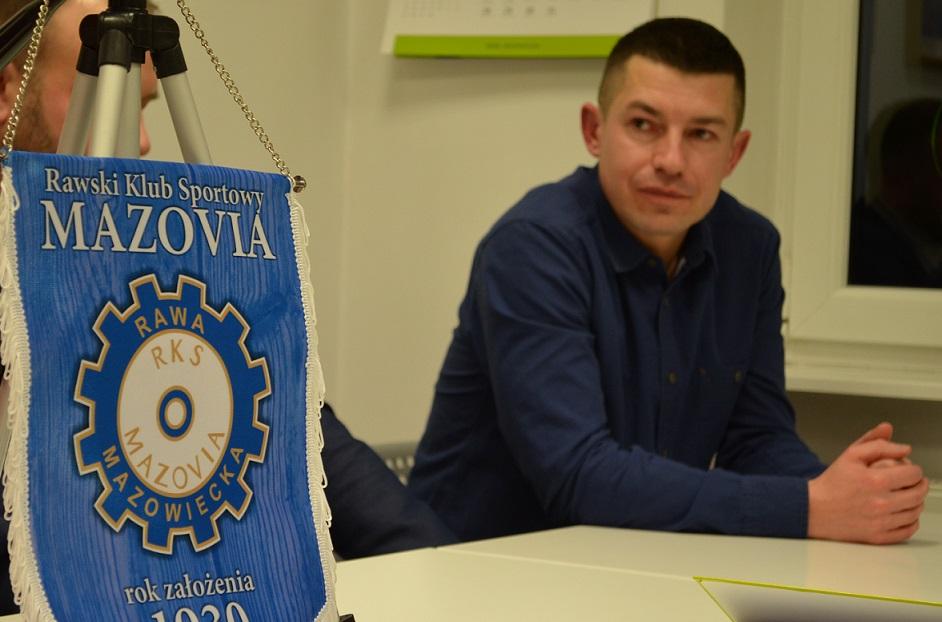 Bartosz Chinowski, prezes RKS Mazovia