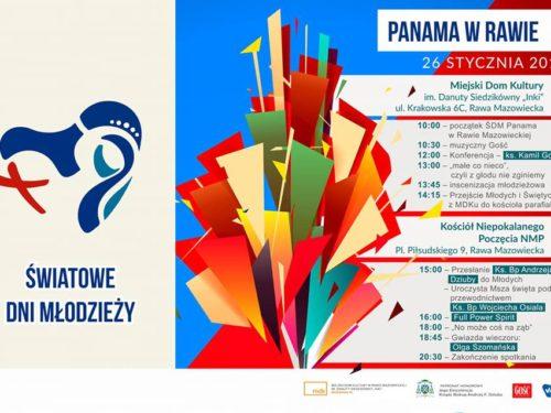 Światowe Dni Młodzieży w Rawie Mazowieckiej (program)