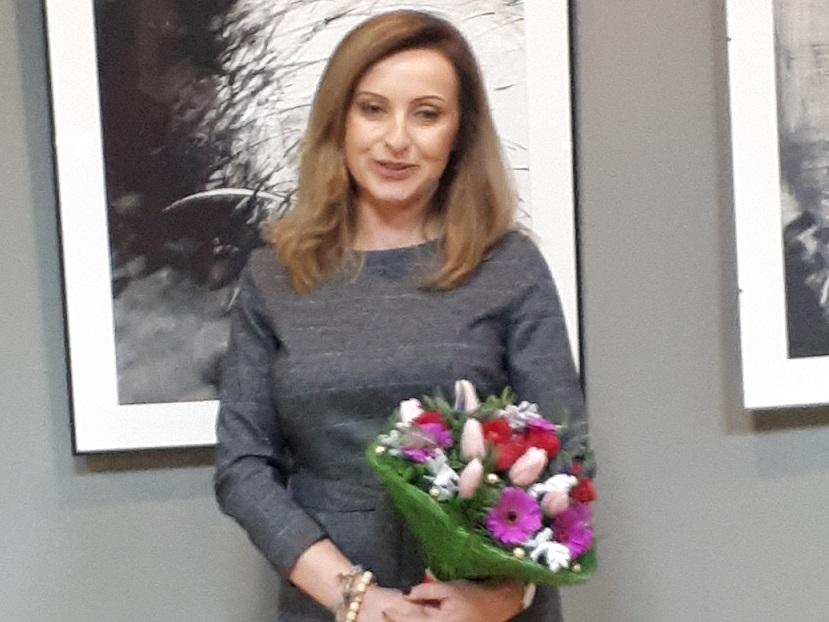 Wernisaż wystawy Katarzyny Błażejewskiej w rawskim MDK.