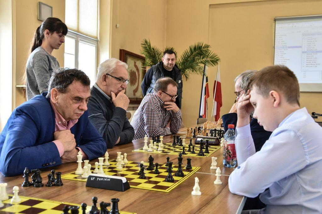 Uczestnicy Zimowego Turnieju Szachowego 16.02.2019