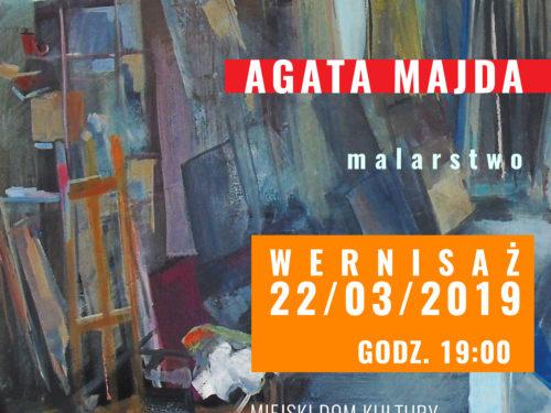 """""""Forma w przestrzeni"""" wystawa malarska Agaty Majda w MDK"""