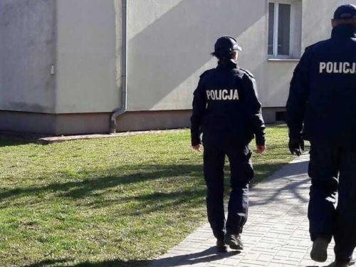 Więcej pieszych patroli policji w Rawie
