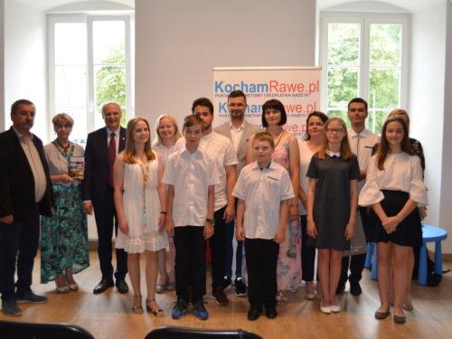 Wręczyliśmy nagrody w konkursie na najlepsze opowiadanie o Rawie Mazowieckiej