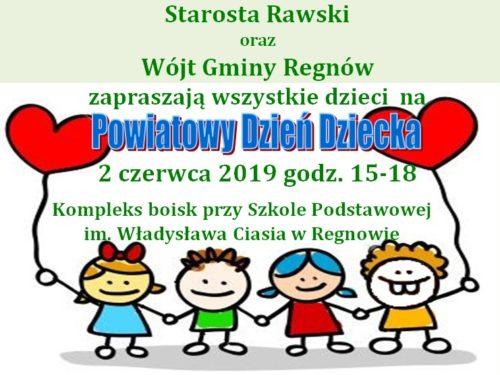 2 czerwca Powiatowy Dzień Dziecka w Regnowie