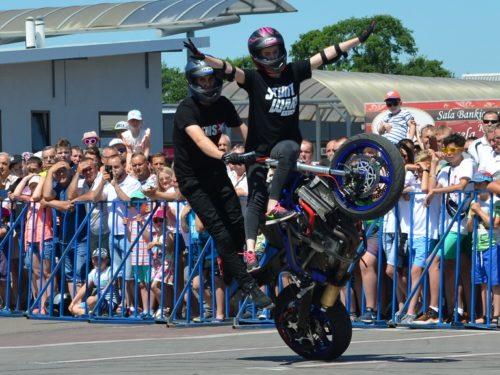 STUNT fotorelacja z pokazu akrobatyki motocyklowej w Rawie