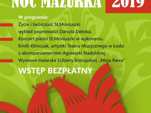 Noc Mazurka 3 sierpnia przy ul. Miłej w Rawie