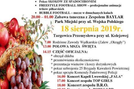 Święto Plonów w Jabłkowej Krainie, czyli CLEO na dożynkach w Białej Rawskiej