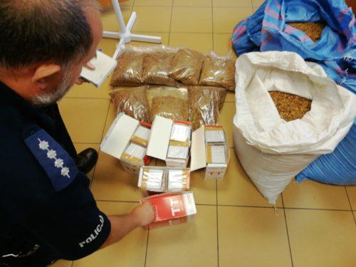 2 tys. sztuk papierosów oraz 40 kg tytoniu bez akcyzy