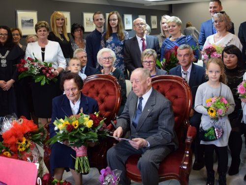Cecylia i Stefan Męcina są małżeństwem od 70 lat