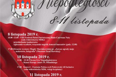 Rawskie Dni Niepodległości (program)