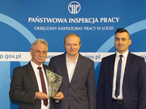 Rawska firma Hagmed nagrodzona przez Państwową Inspekcję Pracy