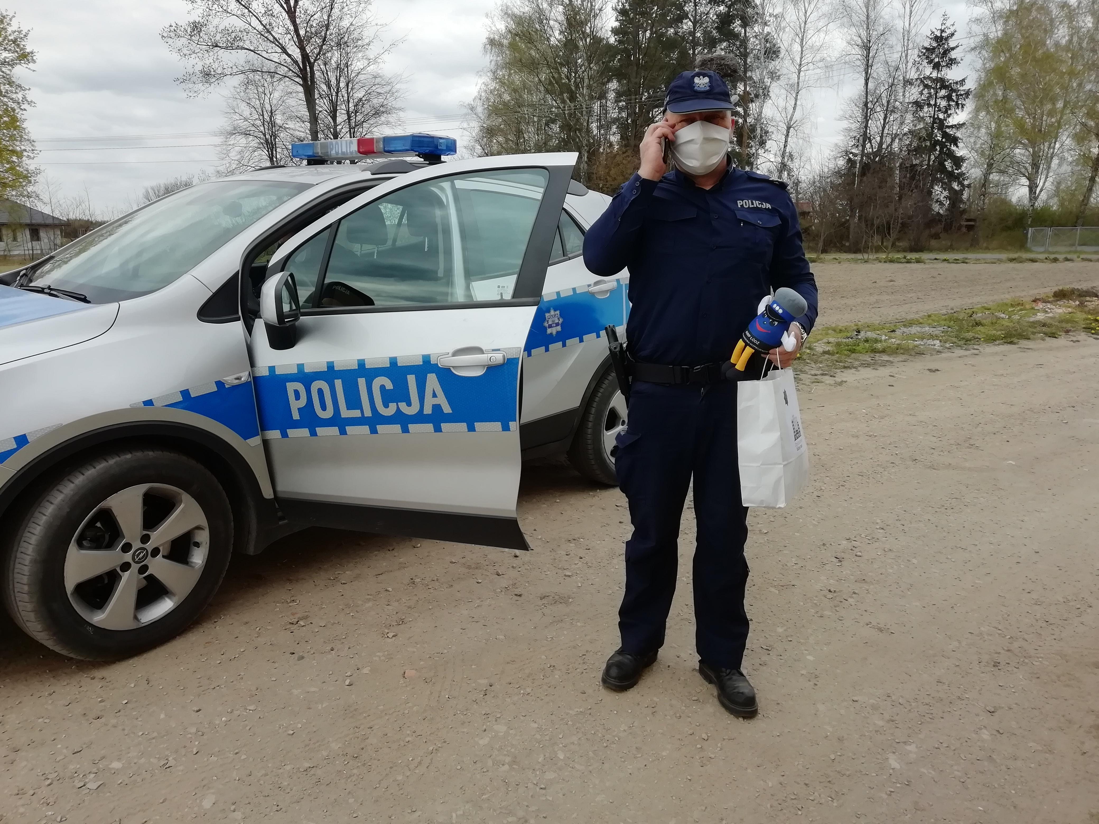 policja Rawa kwarantanna