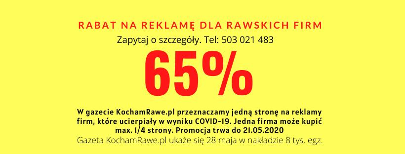 Reklama w Rawie reklama w gazecie Rawa Mazowiecka