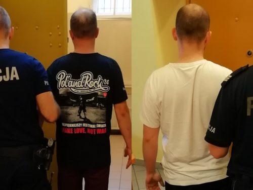 Ojciec i syn zatrzymani za posiadanie pocisku z czasów II wojny światowej w bloku przy ul. Nowej