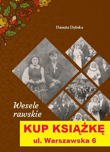 Książkę kupisz w biurze KochamRawe.pl przy ul. Warszawskiej 6