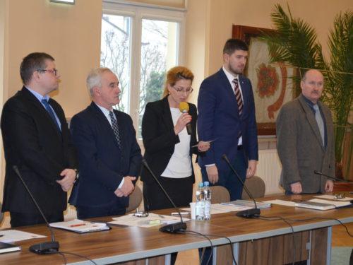 Agnieszka Sielska złożyła ślubowanie i rozpoczęła pracę w Radzie Powiatu Rawskiego