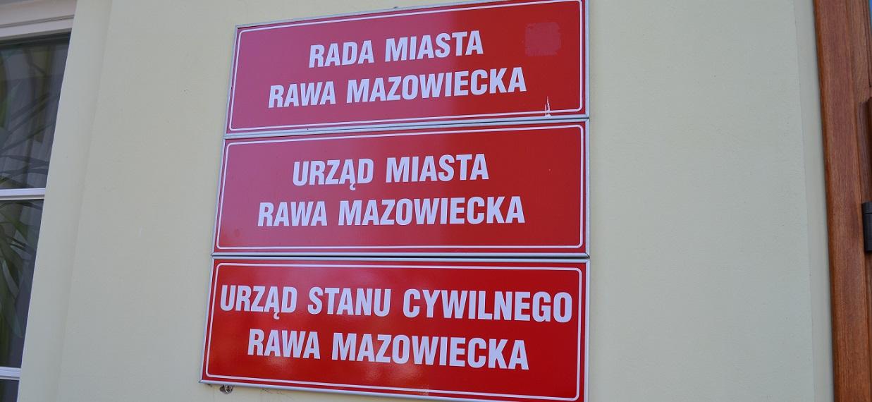 Trwa audyt wewnętrzny w Urzędzie Miasta Rawa Mazowiecka