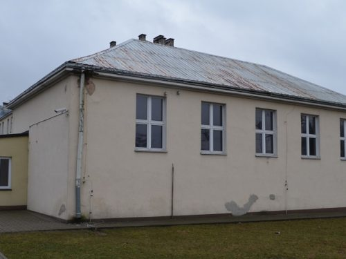 Sala gimnastyczna przy Liceum Ogólnokształcącym do remontu