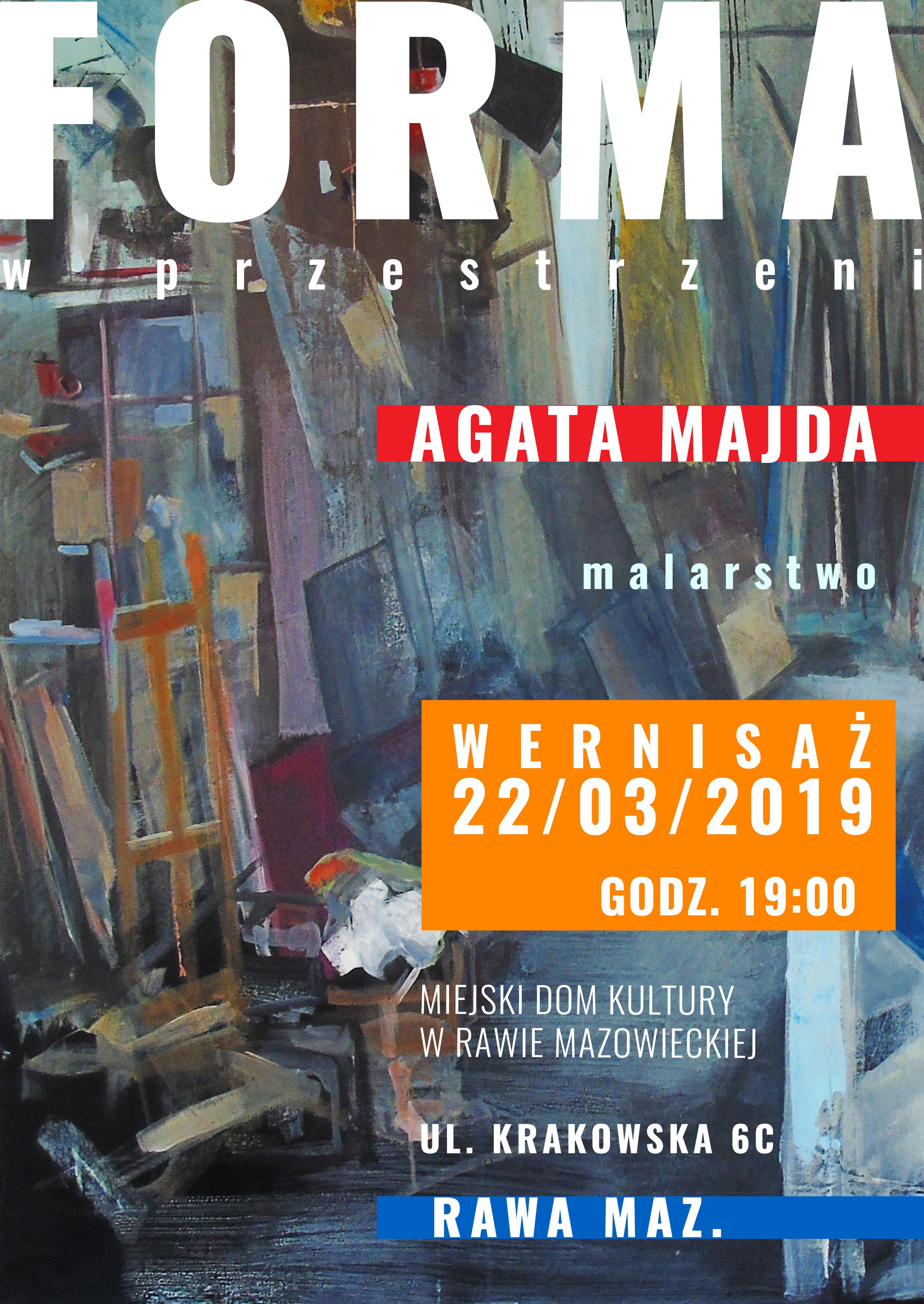 Wystawa malarska MDK Rawa Agata Maida