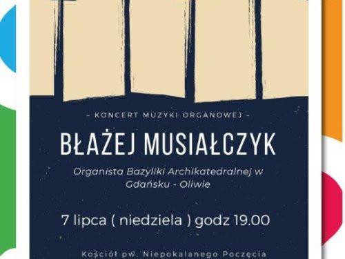 Koncert organowy w Dużym Kościele
