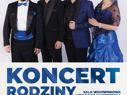 4 sierpnia w MDK koncert Śpiewającej Rodziny Kaczmarków