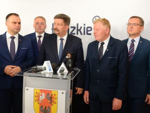 Grzegorz Wojciechowski nie jest już wicemarszałkiem województwa łódzkiego. Złożył rezygnację