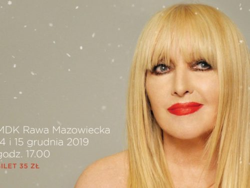 Maryla Rodowicz na Koncercie Świątecznym w Rawie. Bilety w sprzedaży od 23 listopada