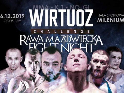 Gdzie kupić bilety na galę Wirtuoz Challenge Rawa Mazowiecka Fight Night?