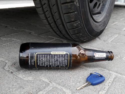 Obywatelskie zatrzymanie nietrzeźwego kierowcy w Sadkowicach