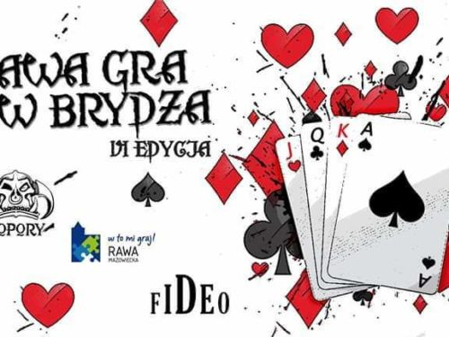 Turniej Par Brydża Towarzyskiego Rawa Gra w Brydża 2020
