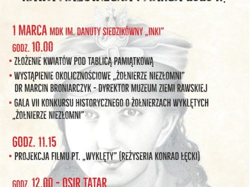 Narodowy Dzień Pamięci Żołnierzy Wyklętych w Rawie