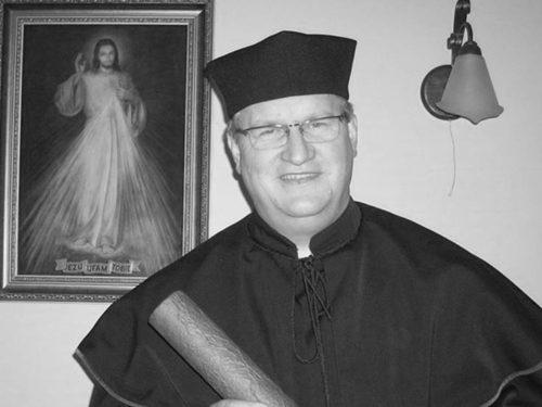 AKTUALIZACJA POGRZEB: Zmarł o. Zbigniew Pisiałek, przeor klasztoru oo. Pasjonistów w Rawie. Miał 60 lat