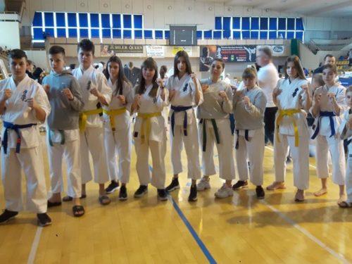Wojownicy z Rawskiego Klubu Karate Kyokushin zdobyli w Chełmie pięć medali
