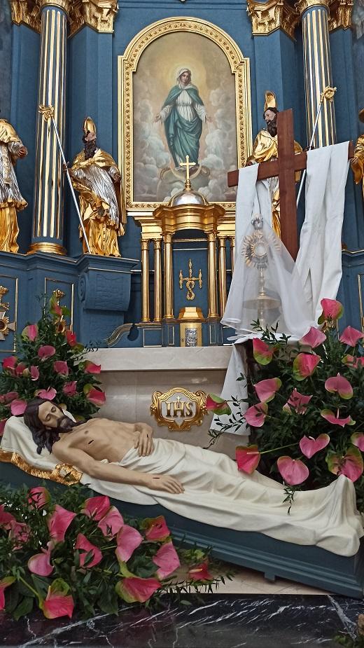 Groby Pańskie w Rawie Mazowieckiej Wielkanoc 2020