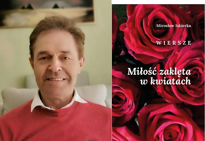 Mirosław Iskierka tomik poezji wydawnictwo roster rawa