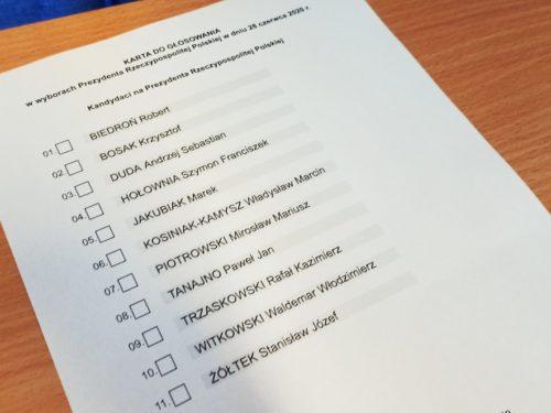 Na Andrzeja Dudę w powiecie rawskim zagłosowało 59% wyborców. Najwięcej w gm. Cielądz