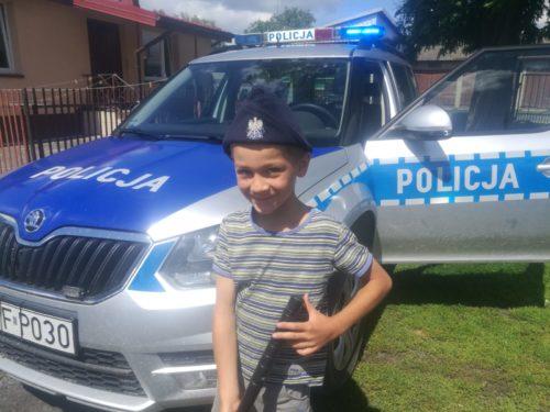 Rawscy policjanci spełnili marzenie chorego Jacka
