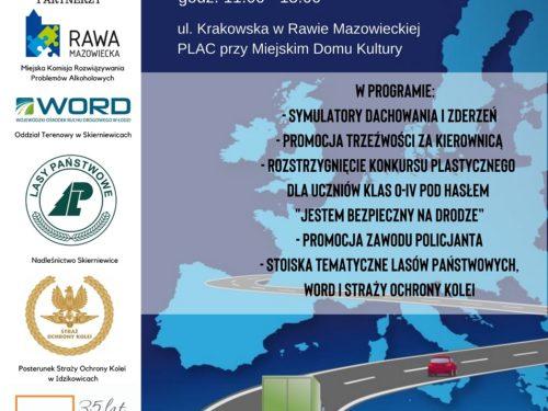 Program rawskich obchodów Europejskiego Dnia Bez Ofiar Śmiertelnych na Drogach