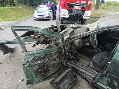 Groźny wypadek w Rawie. 5 osób w szpitalu. Wszyscy byli nietrzeźwi