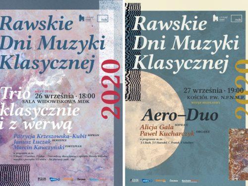 Rawskie Dni Muzyki Klasycznej 2020 już w najbliższy weekend