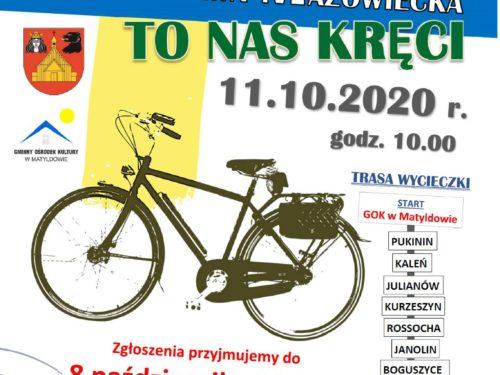 """11.10 Wycieczka Rowerowa """"To nas kręci"""""""