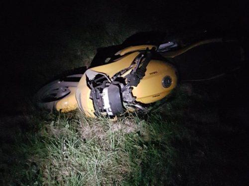 Motocyklista zginął na miejscu. Tragiczny wypadek w Kaleniu