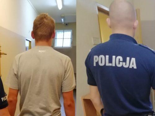 Trzech sprawców pobicia w Matyldowie w rękach policji. Mają od 19 do 30 lat