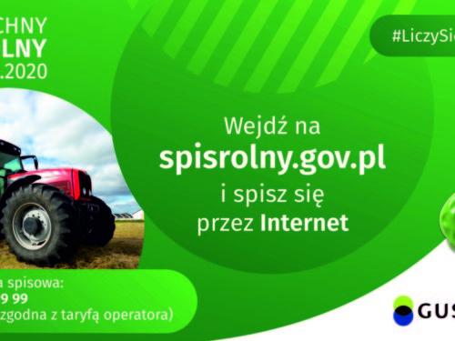 Rolniku! Spisując się online, możesz otrzymać prezent niespodziankę