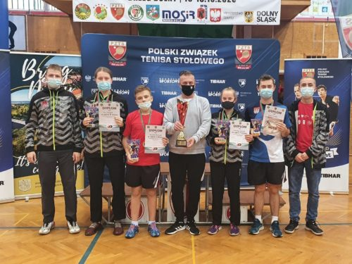 Doskonałe wyniki rawskich tenisistów na Mistrzostwach Polski Zrzeszenia LZS w Brzegu Dolnym