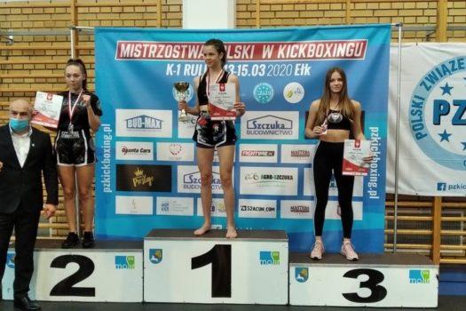 Martyna Gasińska z brązowym medalem Mistrzostw Polski