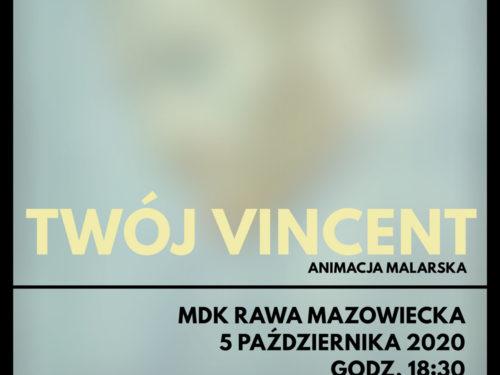 """Film """"Twój Vincent"""" w Kinie Konesera"""