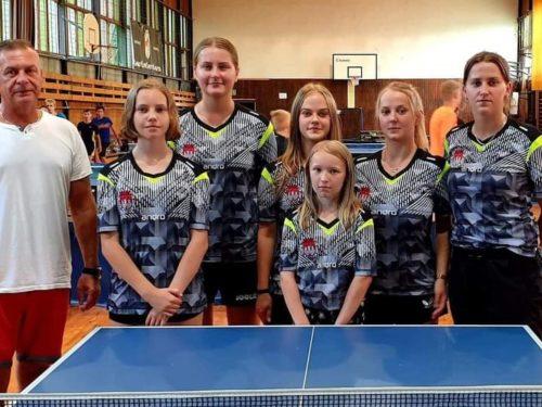 Rozgrywki I Ligi Kobiet w Tenisie Stołowym
