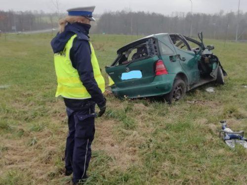 Tragiczny wypadek w Babsku. Zgięły dwie osoby