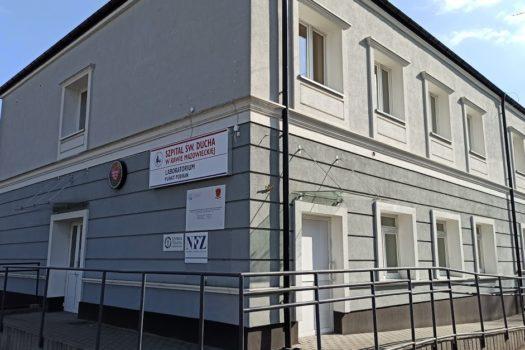 Poradnia kardiologiczna w Rawie Mazowieckiej przy ul. Warszawskiej 14
